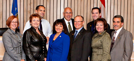 The nine members of Strathcona County Council have spent $306,252 on priority funding so far in 2011.